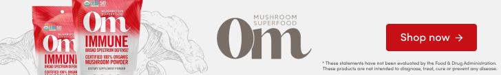 Shop Immune Mushroom Superfood Powder by Om Organic Mushroom Nutrition