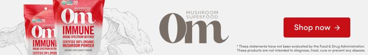 Shop Immune Mushroom Superfood Powder by Om Organic Mushroom Nutrition