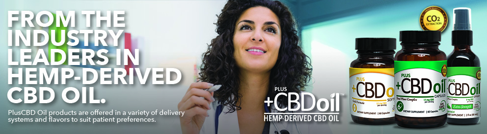 Plus CBD oil; Hemp-Derived CBD Oil