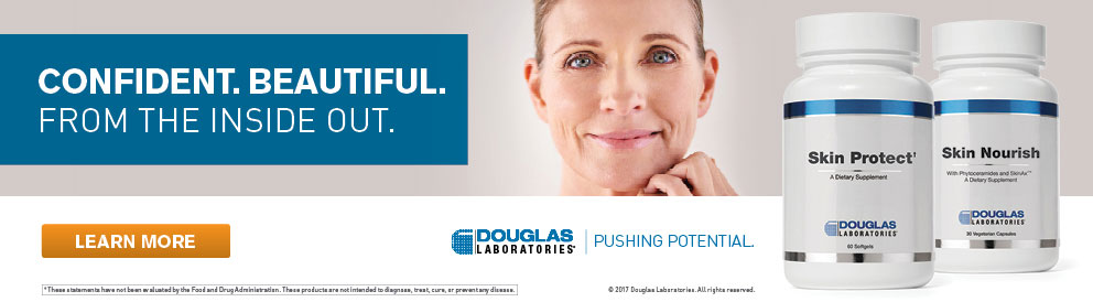 Douglas Labs. Confident and beautiful from the inside out.