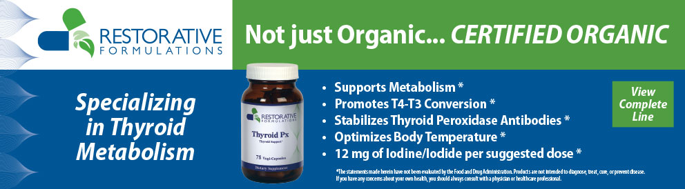 Restorative Formulations - Thyroid Metabolism