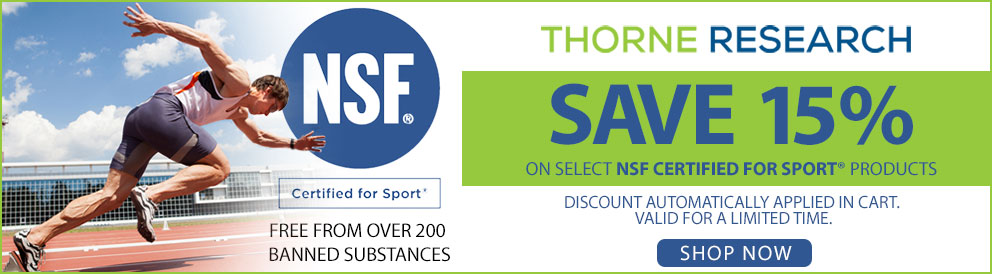 Thorne Research Save 15%