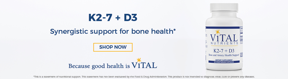 Vital Nutrients K2+D3