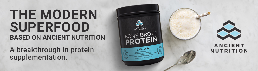 Shop Bone Broth Protein from Ancient Nutrition