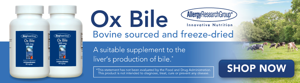 Shop Ox Bile from Allergy Research