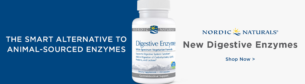Shop digestive enzymes from Nordic Naturals