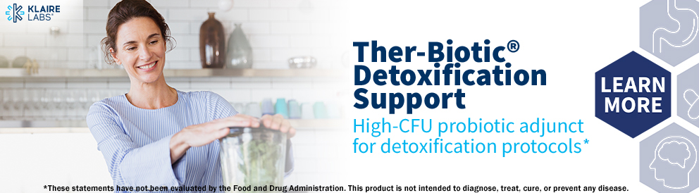 Shop Ther-Biotic Detox Support from Klaire Labs