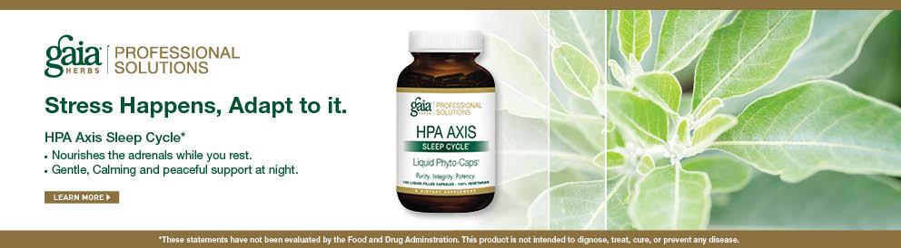 Shop HPA Axis Sleep Cycle fro Gaia Herbs