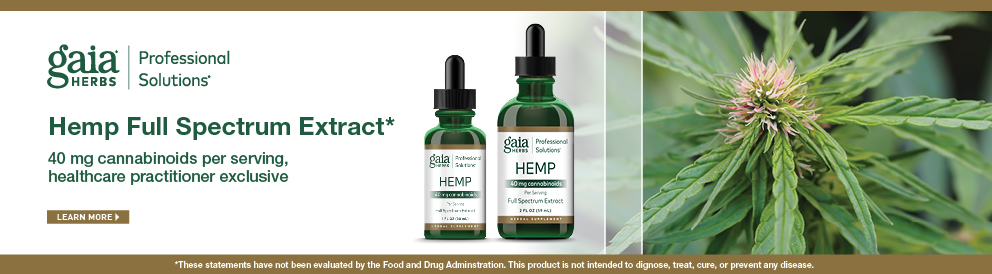 Shop Hemp Full Spectrum Extract from Gaia Herbs