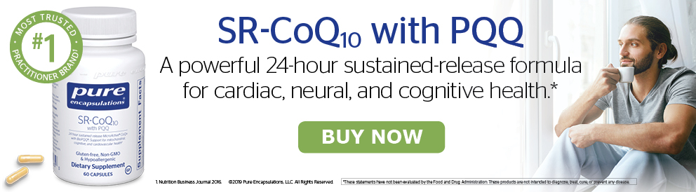Shop SR-CoQ10 with PQQ from Pure Encapsulations
