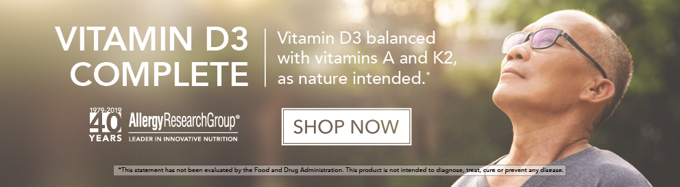 Shop Vitamin D3 Complete from Allergy Research Group