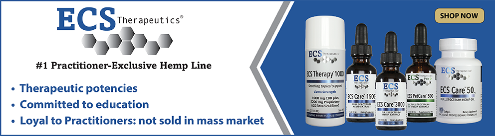 Shop Practitioner-Exclusive Hemp from ECS Therapeutics
