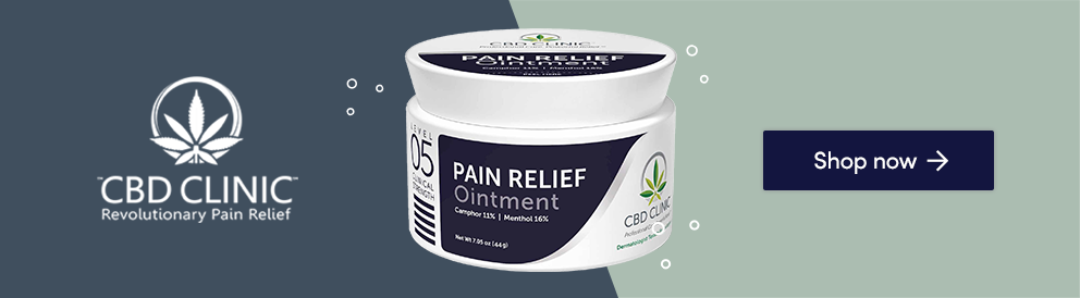 Shop Pain Relief Ointment from CBD Clinic