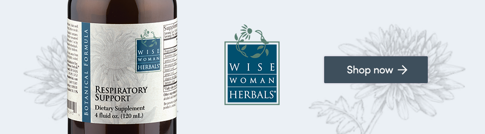 Shop Respiratory Support from Wise Woman Herbals