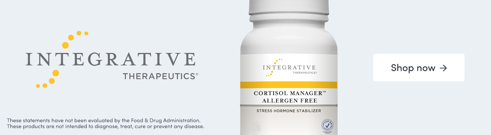 Shop Cortisol Manager Allergen Free from Integrative Therapeutics