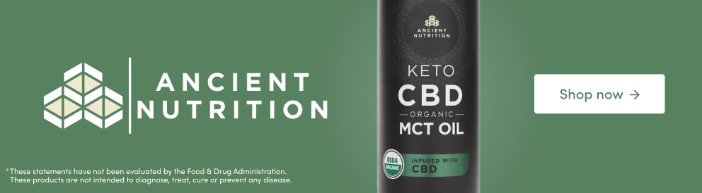 Shop Keto CBD MCT Oil from Ancient Nutrition