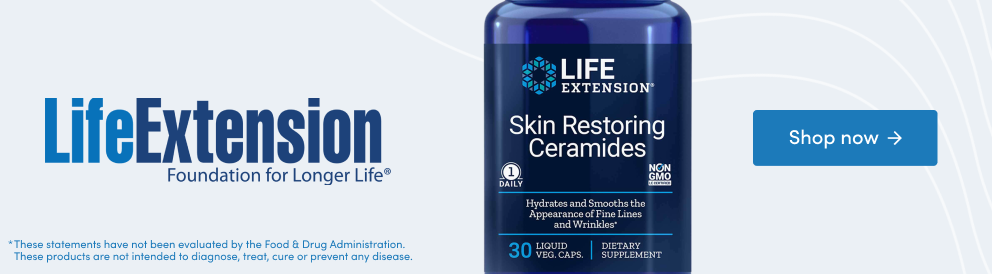 Shop Skin Restoring Ceramides from Life Extension