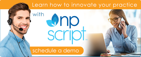 NP Script: Learn how to innovate your practice - schedule a demo