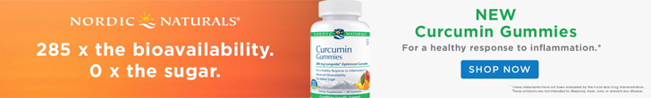 New Curcumin Gummies from Nordic Naturals